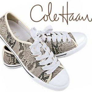 Cole Haan x Nike Air Snakeskin Sneakers 8.5